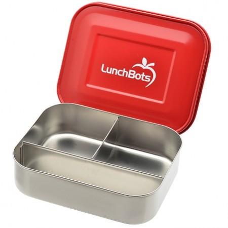 LunchBots trio rood lunchbox
