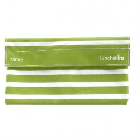 Lunchskins-snack-Stripes-green