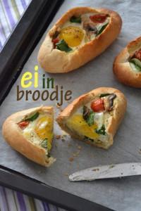 ei in een broodje