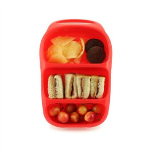 Goodbyn lunchbox rood open