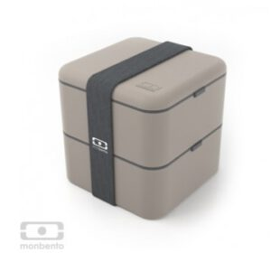 Monbento grote bentobox grijs