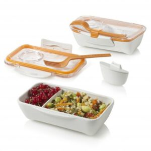 Black & Blum Bentobox white and orange