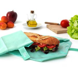 bocnroll-eco-mint_herbruikbare lunchwrap met stokbrood